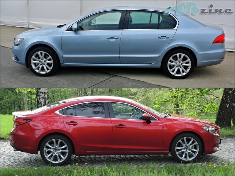 Review: 2 0 Mazda6 SKYACTIV-G vs  Skoda Superb 1 8 TSI - not
