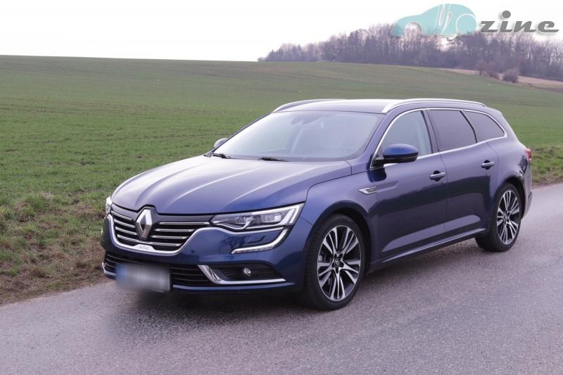 Renault Talisman Subsuting For Laguna And Laude Models The Test Version Grandtour Is Highest Equipment Initiale Paris